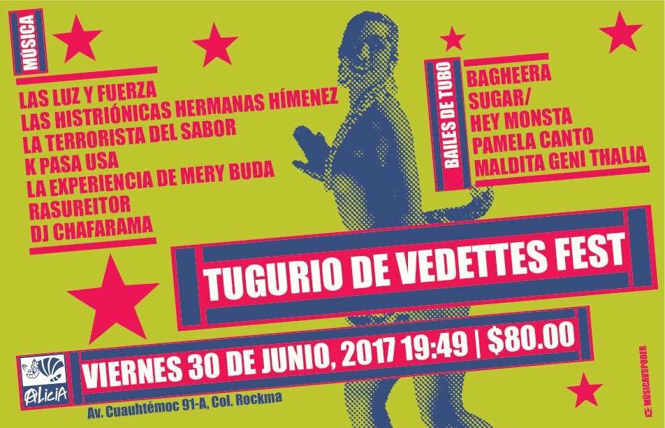 Vedettes en el Multiforo Cultural Alicia @ Foro Multicutural Alicia | Ciudad de México | Ciudad de México | México
