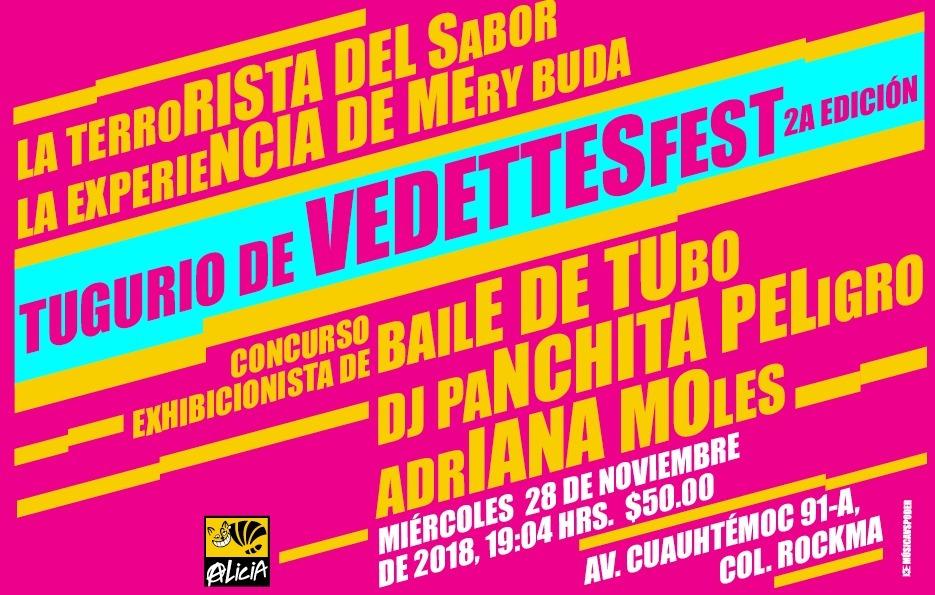 Tugurio de Vedettes Fest 2da edición @ Multiforo Cultural Alicia | Ciudad de México | Ciudad de México | México